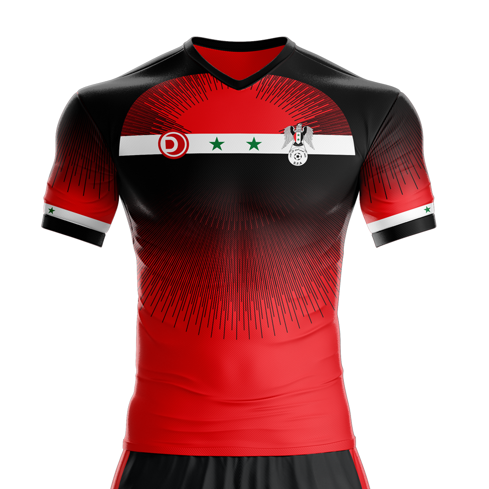 379c3e043c Syria Home Jersey Camisetas De Futebol