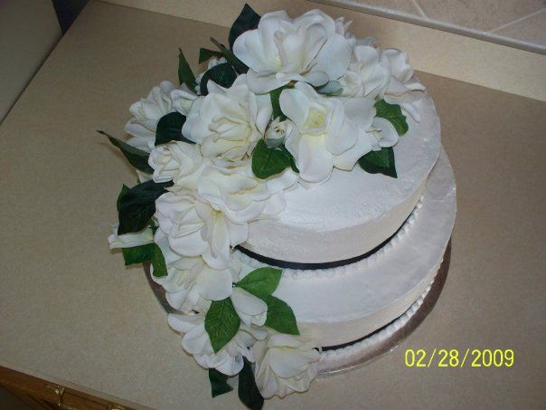 Bridal Shower Cake by Out of the Box, Custom Cakes, Cards and More https://www.facebook.com/pages/Out-of-the-Box-Custom-Cakes-Cards-and-More/207234363479