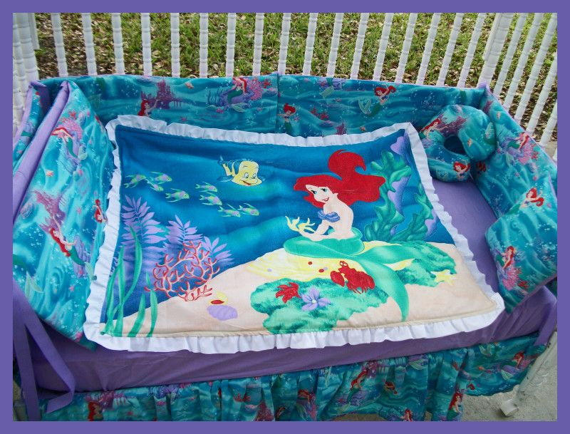 Little Mermaid Crib Set I Loved The Little Mermaid The