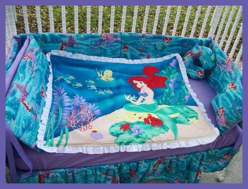 Little Mermaid Crib Set I Loved The Little Mermaid The