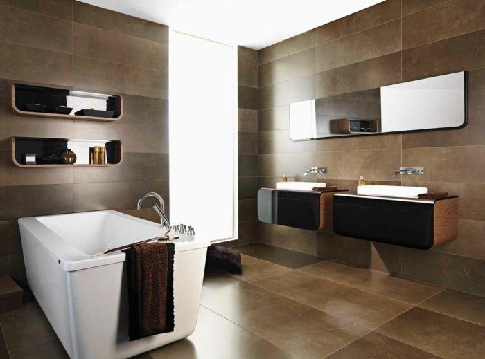 porzellan fliesen bad fliesen ideen badezimmerfliesen Badezimmer - badewanne fliesen ideen