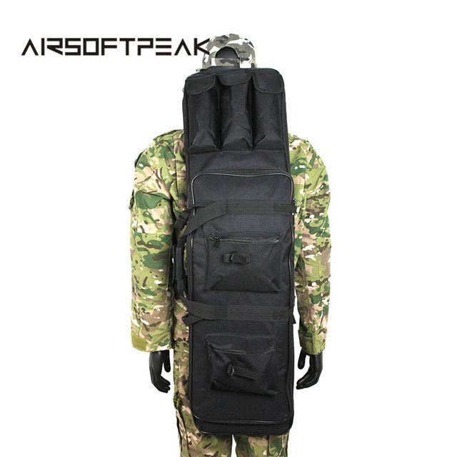 100CM Tactical Heavy Duty Gun Rifle Carrying Case Bag Backpack