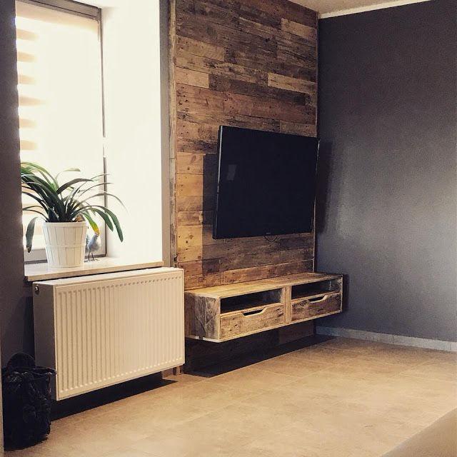 Mueblesdepalets.net: Mueble de TV empotrado | Avalom designs ...