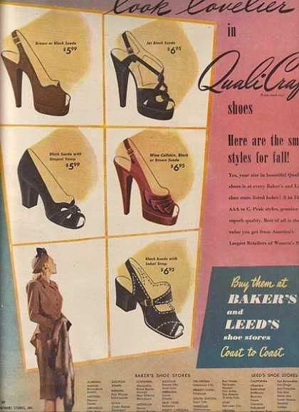 Vintage Clothes Fashion Ads Of The 1940s Page 49 Vintage Outfits Fashion Blue Suede Shoes