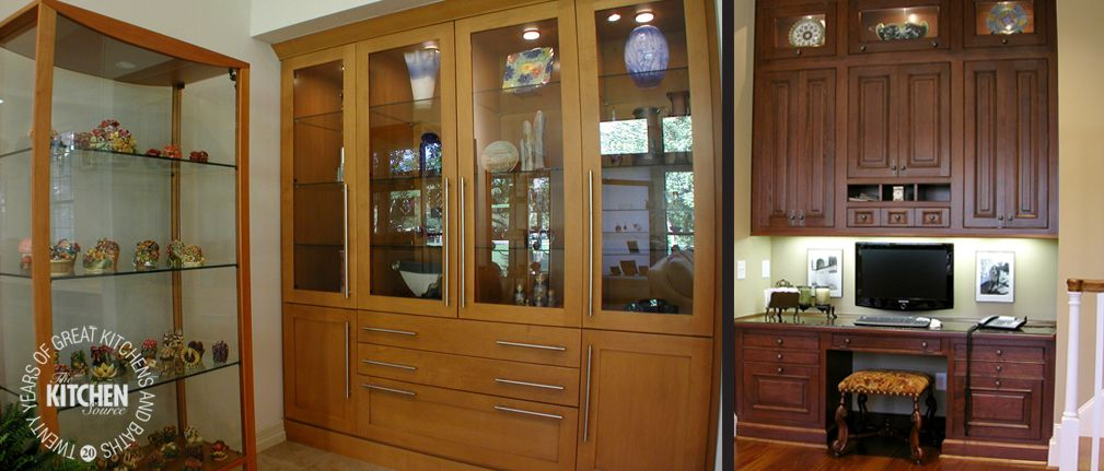 Display Hutch & Work Space by The Kitchen Source, Dallas | Fort Worth