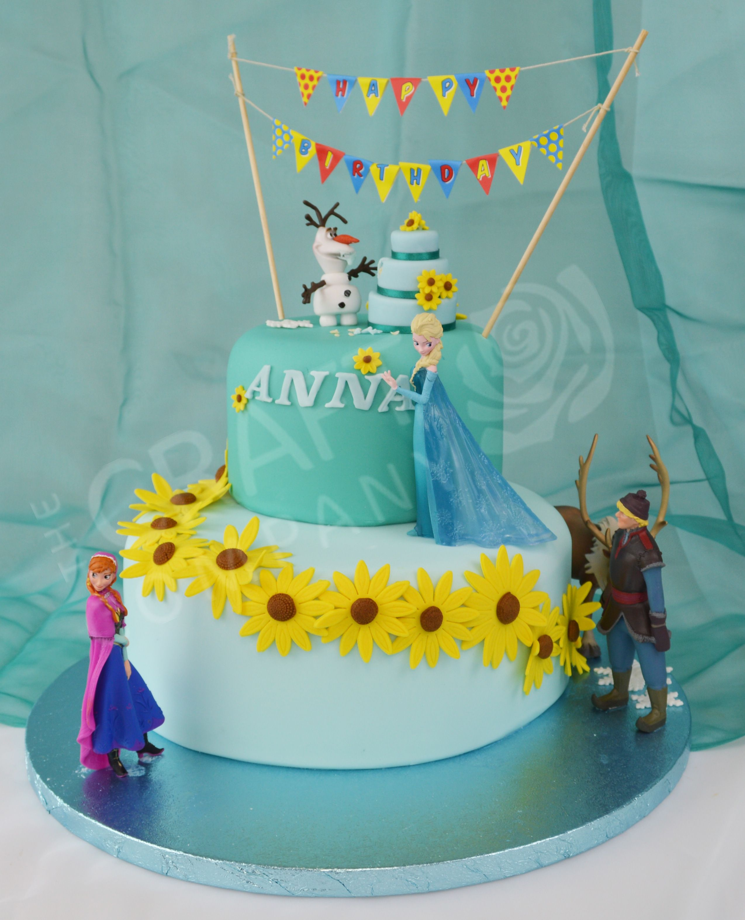 Disney Frozenfever Cake Made By The Craft Company To View