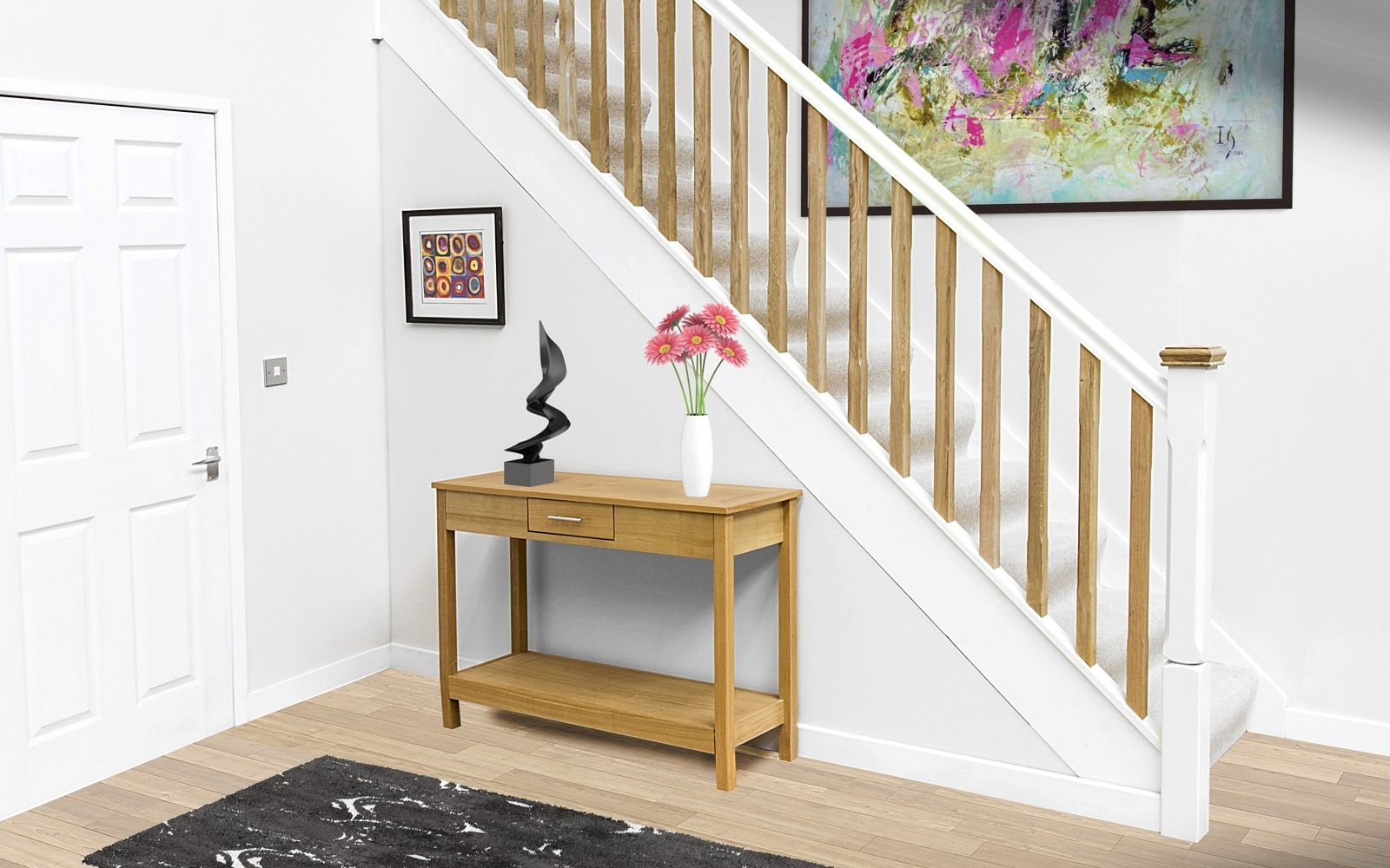 Best Pin By Sian On Stairs Oak Spindles Parts Of Stairs 400 x 300