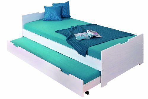 Links 20703080 Bett 90x200 Cm Kinderbett Gastebett Funktionsbett