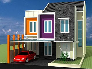 gambar desin rumah minimalis sederhana modern denah rumah