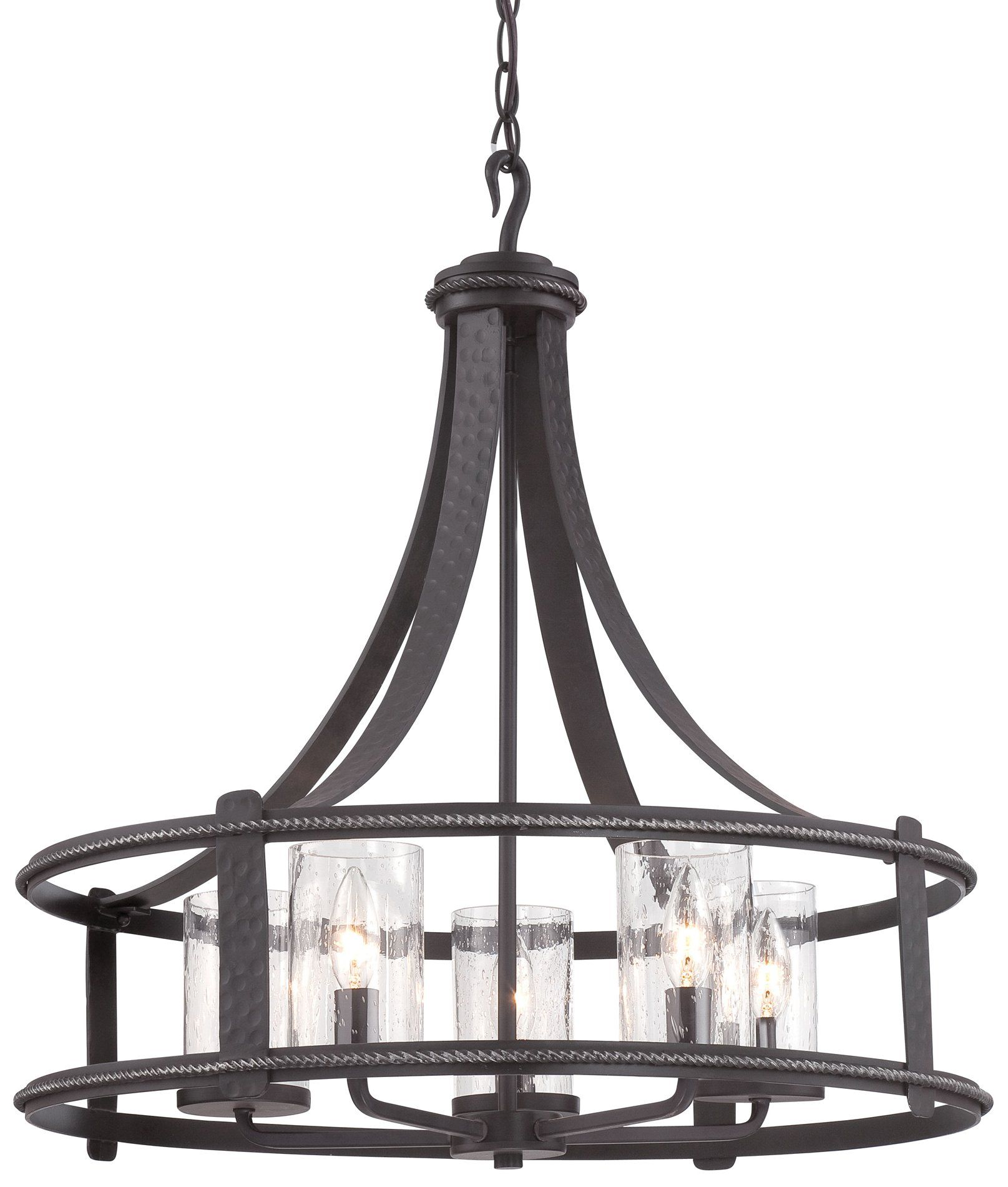 Designers Fountain 87585 Apw Palencia Transitional Chandelier Df