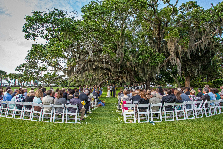 Riverfront Lawn Ceremony Georgia Wedding Jekyll Island Wedding Moments