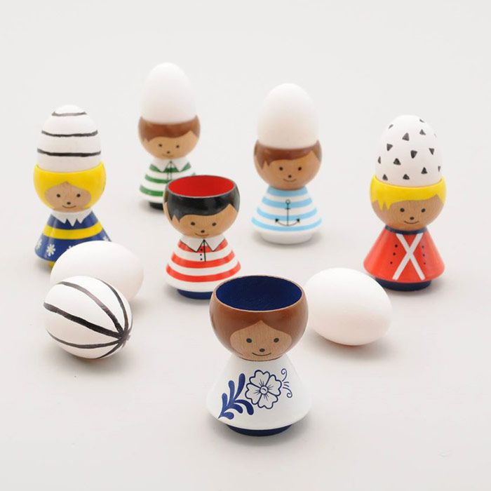 BORDFOLK : eierdop eggcup Lucie Kaas | BinnenPret Wonen