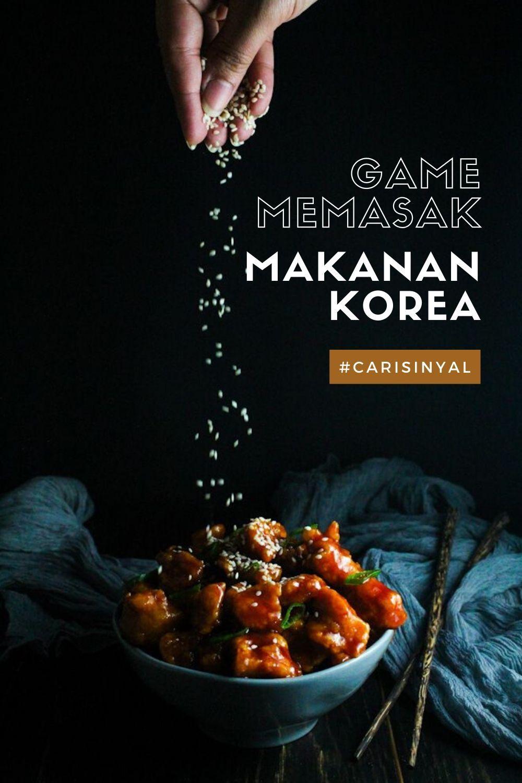 Game Memasak Aplikasi Resep Makanan Korea Di Android Makanan Korea Makanan Resep Makanan Korea