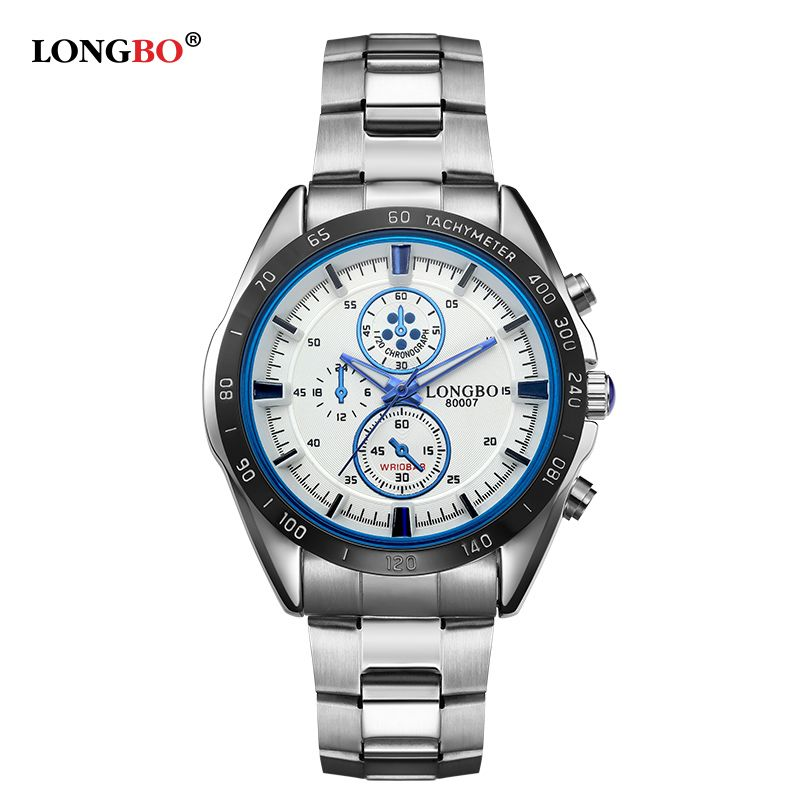 >> Click to Buy << LONGBO 2017 men watch brand business quartz watch full Steel Waterproof 30M sports watch Fashion luminous military watches 80007 #Affiliate