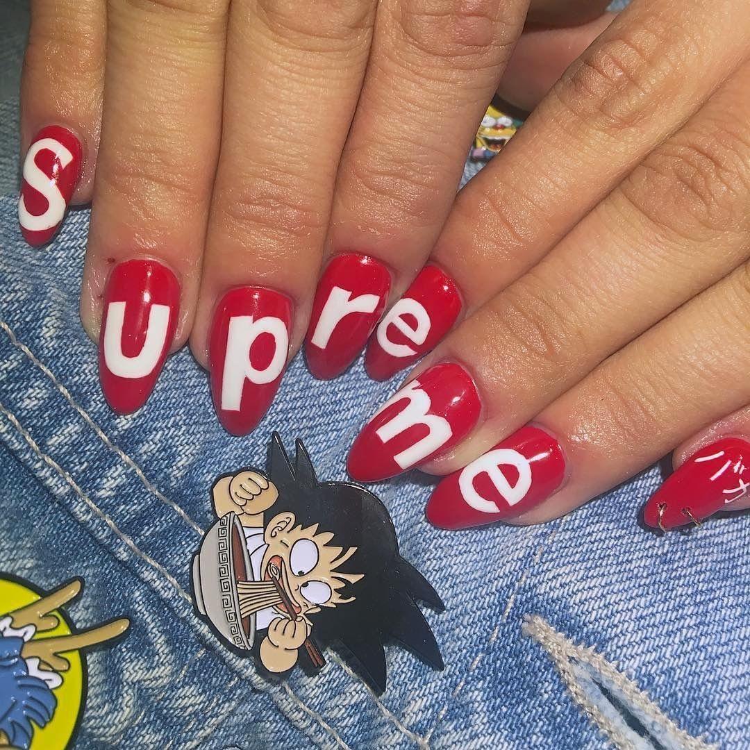 Supreme - Nails   Pinterest