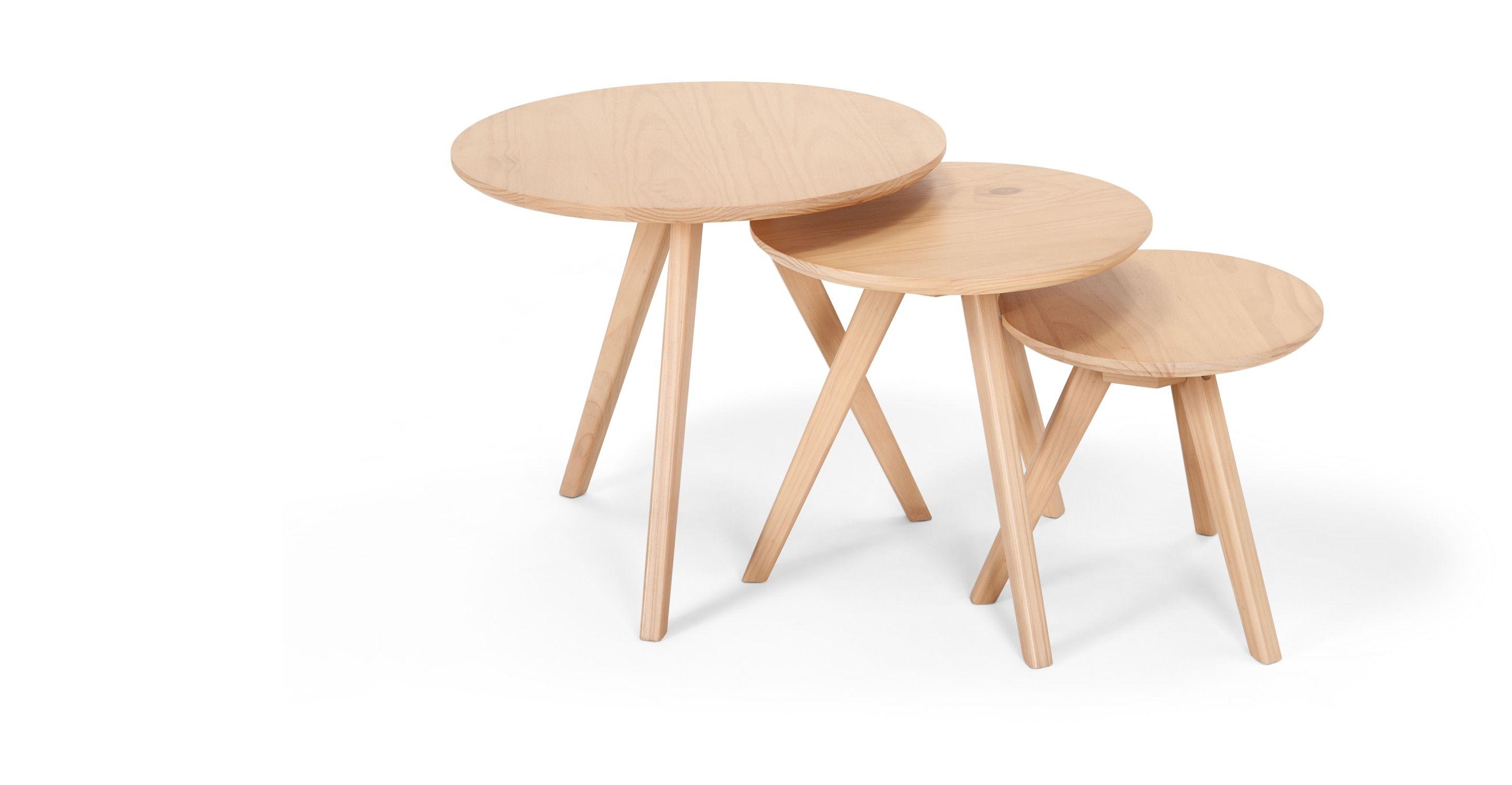 Orion Beistelltisch Set Natur Made Com Jetzt Bestellen Unter Https Moebel Ladendirekt De Wohnzimmer Tische Beiste Beistelltische Beistelltische Set Tisch