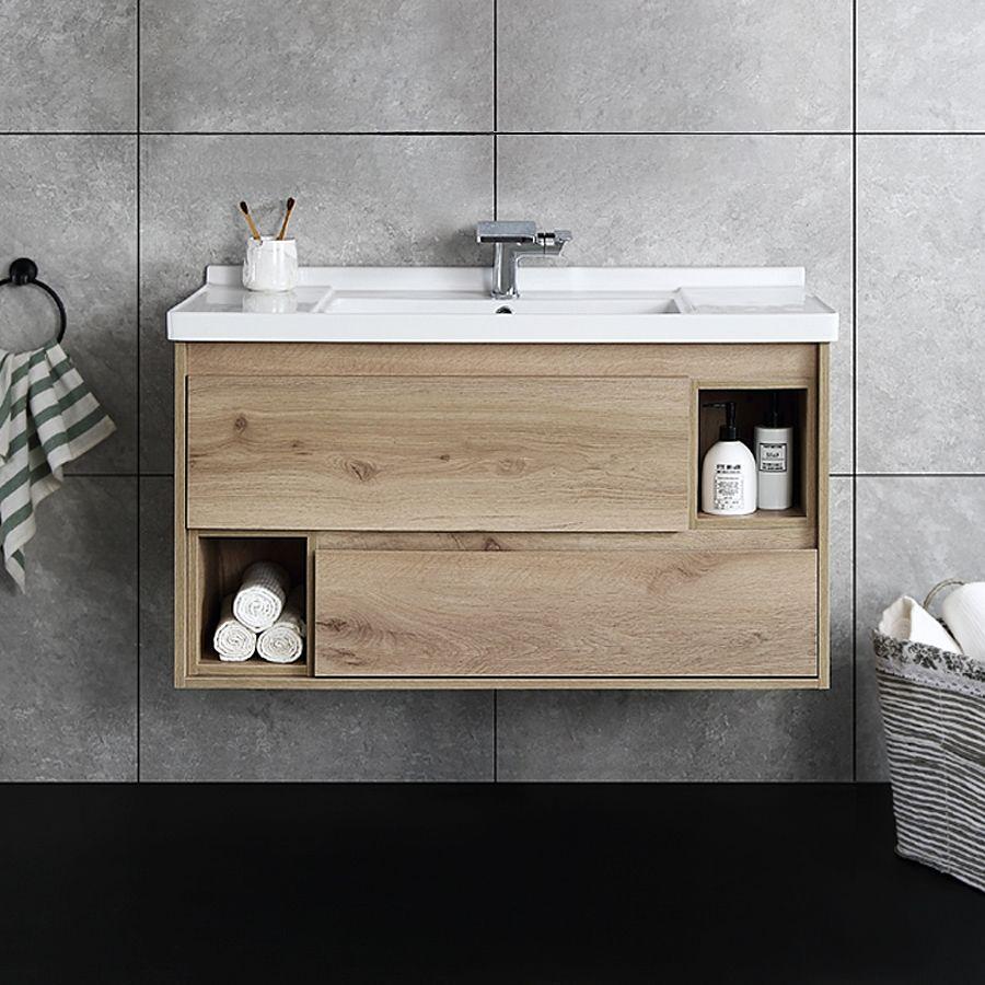 Floating Bathroom Vanity Wall Mounted Single Bathroom Vanity 39 In 2021 Floating Bathroom Vanities Single Bathroom Vanity Modern Bathroom Vanity [ 900 x 900 Pixel ]