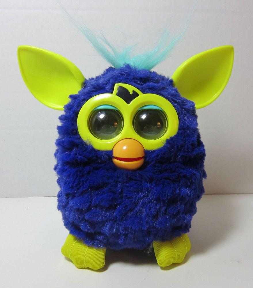 Furby Hasbro Starry Night Blue Amp Yellow Talking
