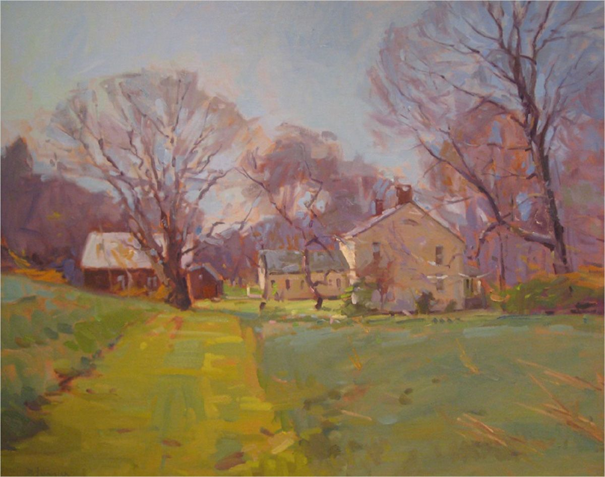 David Lussier Ct Oil Landscape Paintings Creative Painting Fine Art