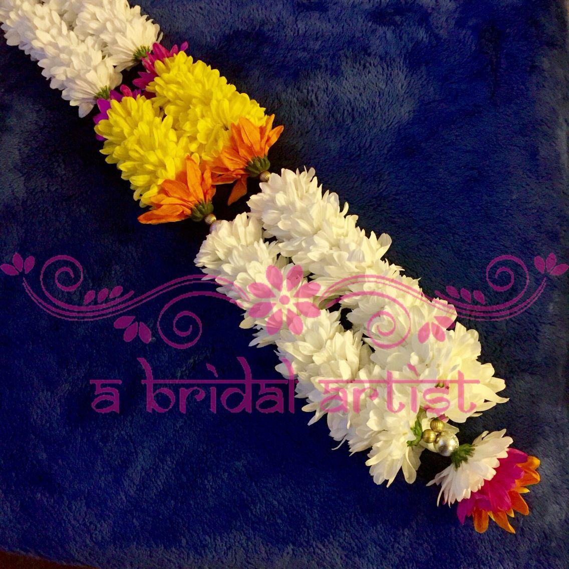 Exquisite Designer Wedding Garland Jaimala Haar Varmala Made From Fresh Flowers