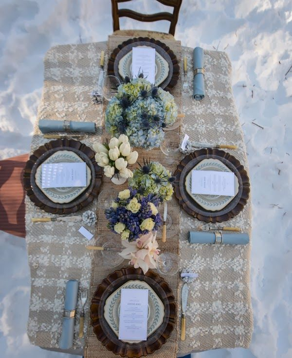 Winter Wonderland Wedding  |  The Frosted Petticoat
