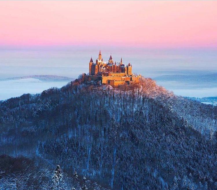 Castillo de Hohenzollern. Alemania.
