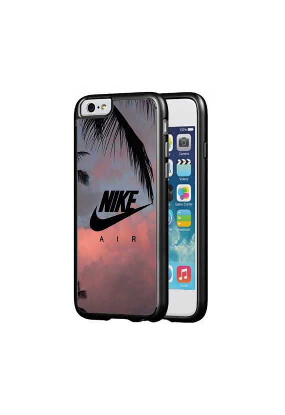 Nike Swoosh Protective Phone Case for iPhone by uDesignCustoms