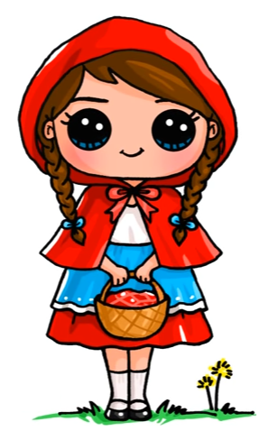 Little red riding hood art drawings pinterest red for Hase malen