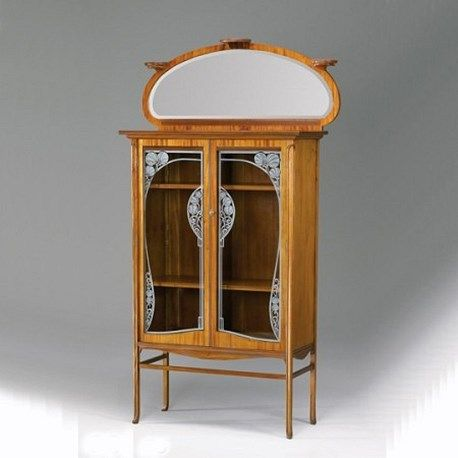 Vitrine Met Spiegel.Art Nouveau Vitrinekast Sier Idee Kast In 2019 Art Deco