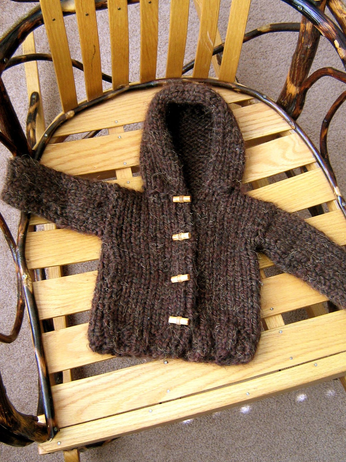 20b9a6729a0d Comfy Hooded Jacket pattern by Lion Brand Yarn