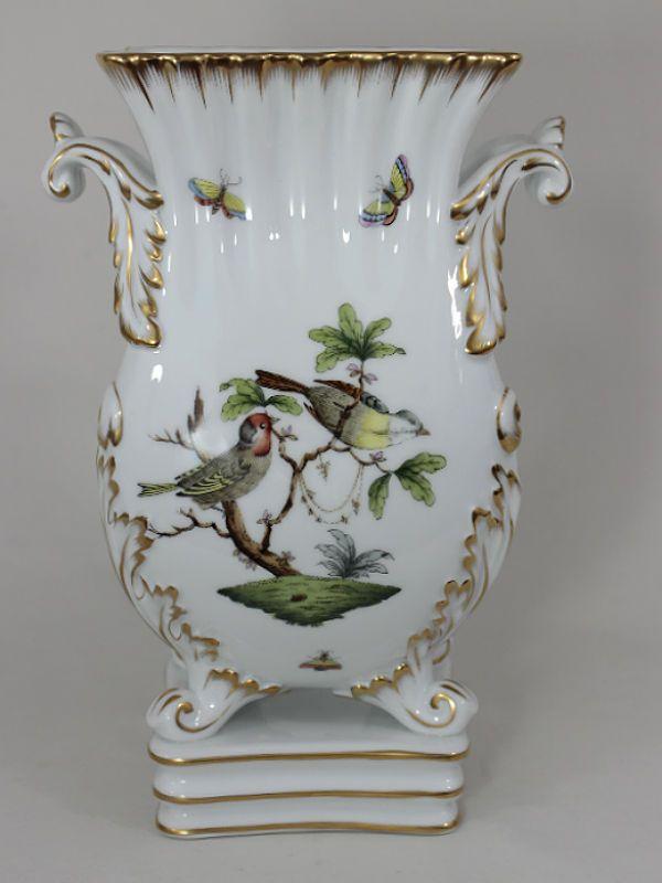 Herend Rothschild Bird Pedestal Vase Large Pinterest Porcelain