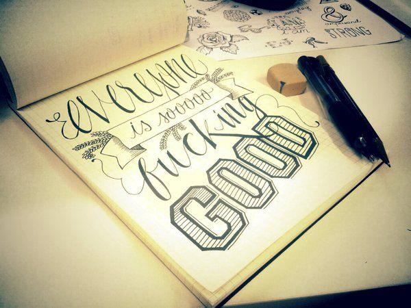 Everyone is good...