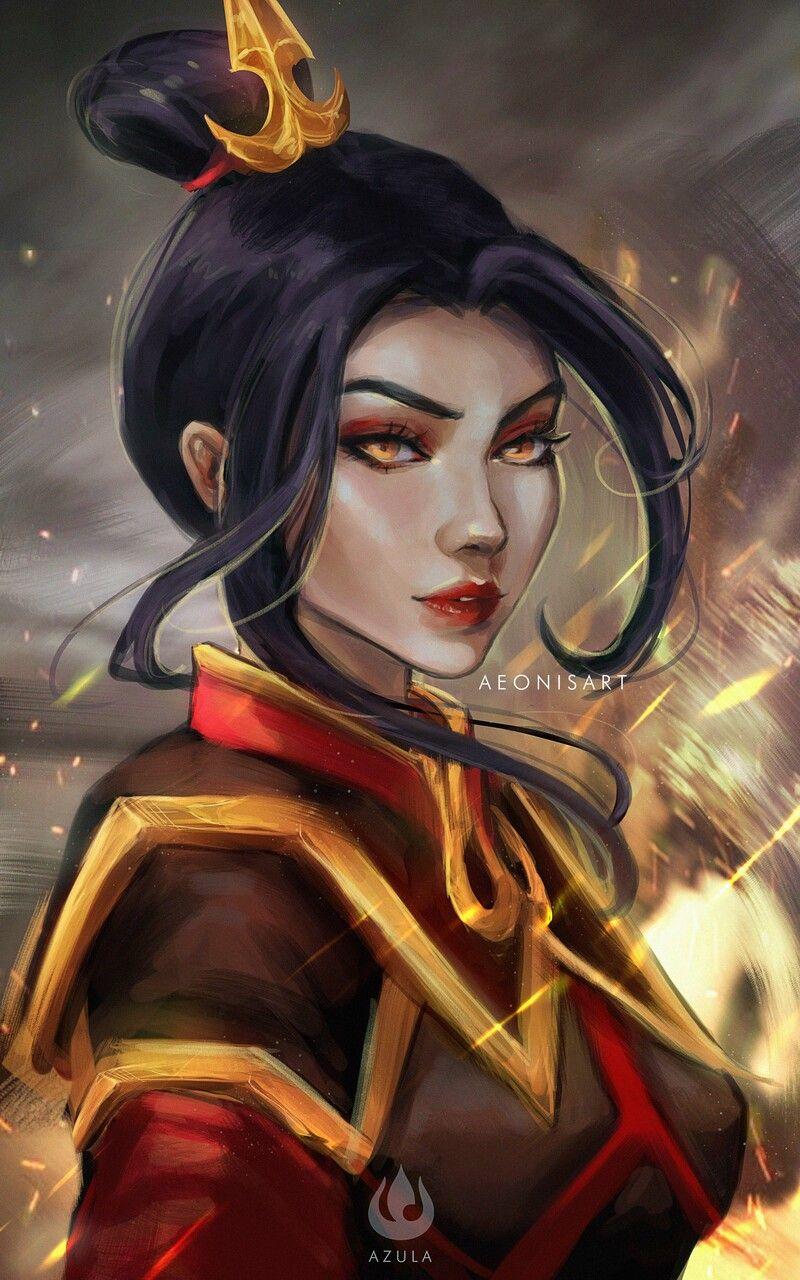 Photo of Avatar The Last Airbender: Azula fanart, Jenny Pham