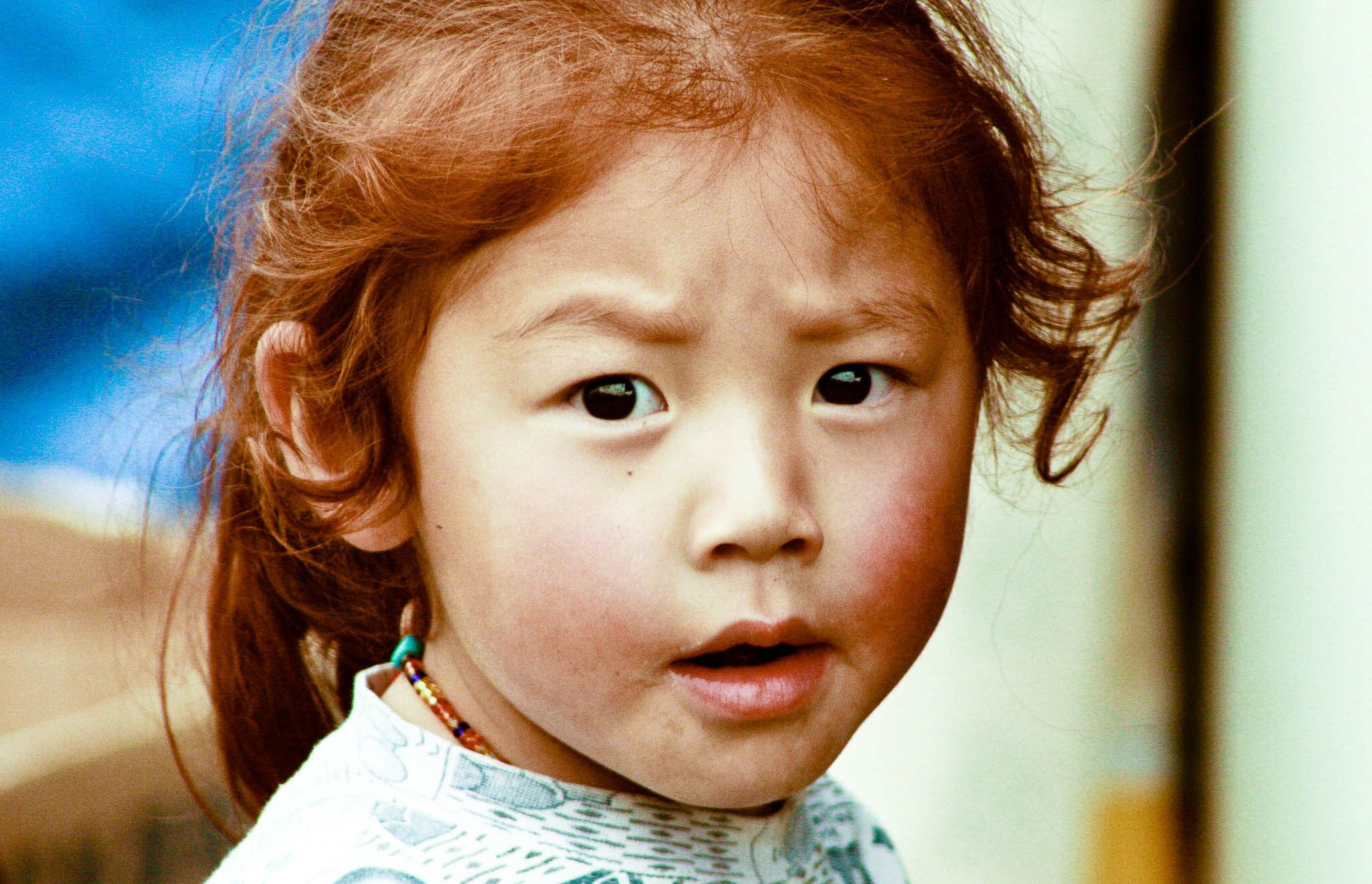 Ginger Korean Baby Asian Red Hair Girls With Red Hair Natural Red Hair
