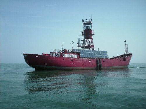 East Goodwin Lightship (Goodwin Sands) [Kent, England]
