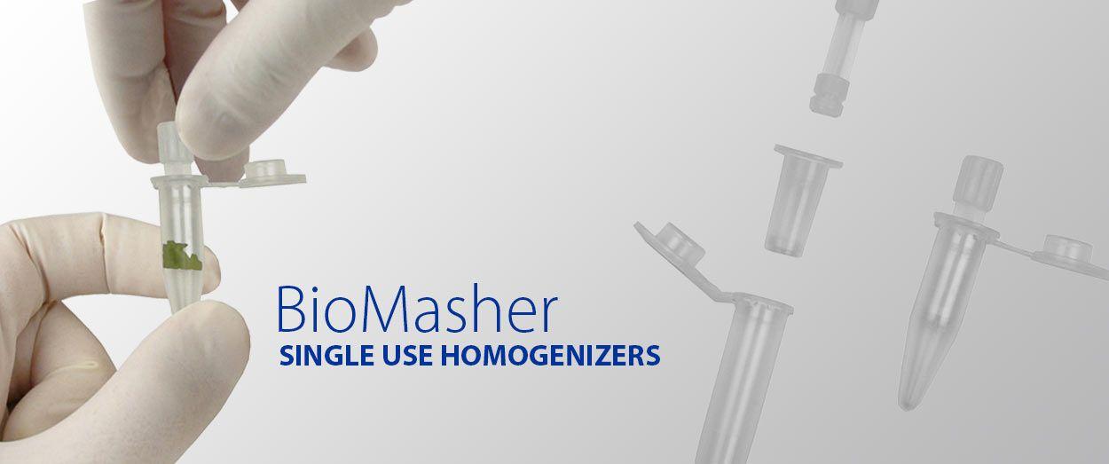 BioMasher: Single Use Homogenizer 1 5 mL tubes | Science