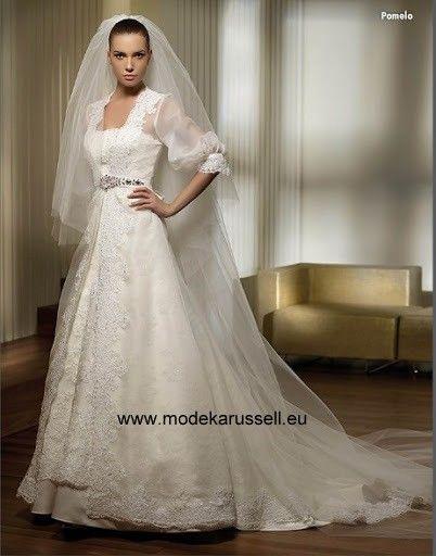 Pomelo Italienisches Brautkleid Hochzeitskleid | Brautkleider 2018 ...