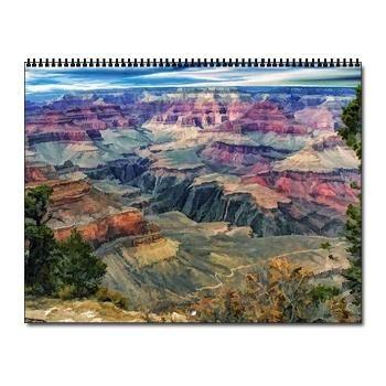 Arizona National Parks Wall Calendar $23.99