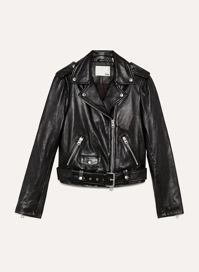 c1b0578e4 Lennon leather biker | Mode | Leather, Jackets, Biker