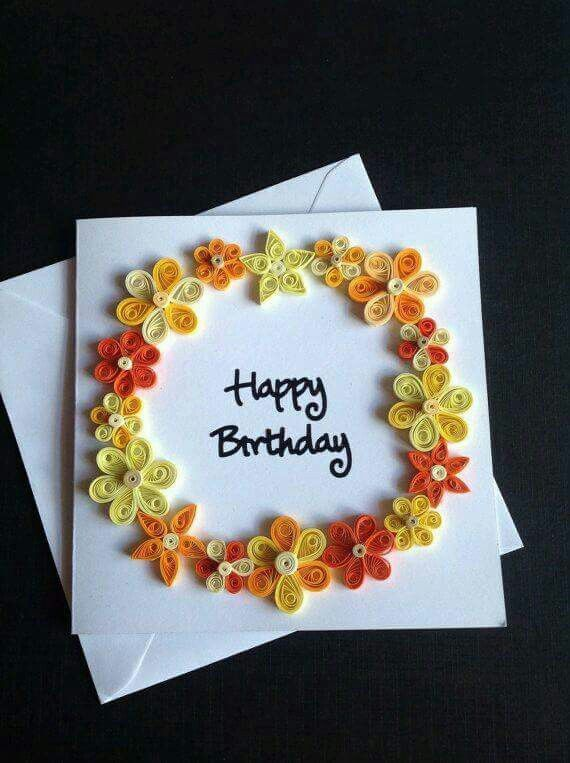 Tarjeta de cumpleaos quilling pinterest quilling paper paper quilling flower greeting card by quillsforcards on etsy bookmarktalkfo Choice Image
