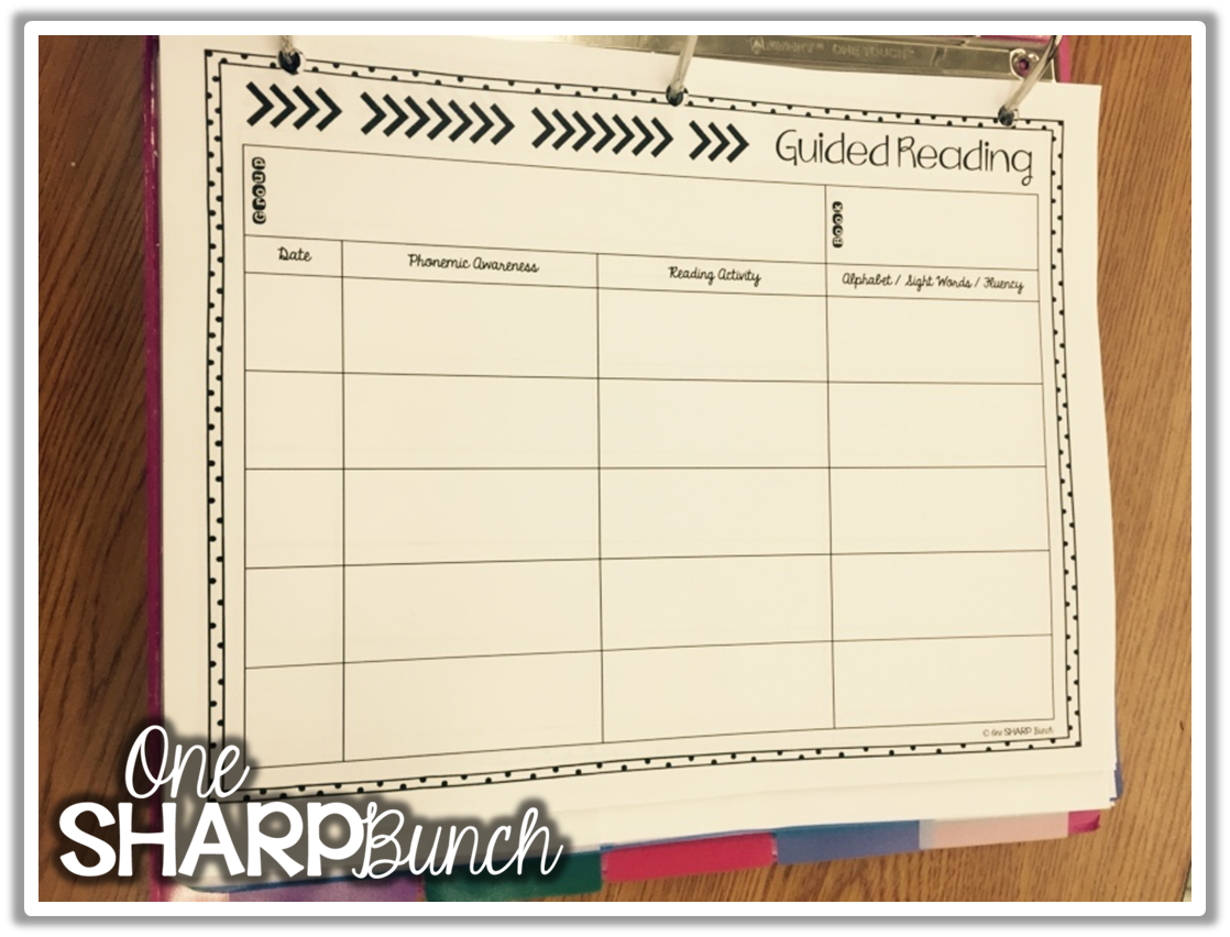 Free Guided Reading Lesson Plan Template Guided Reading Small