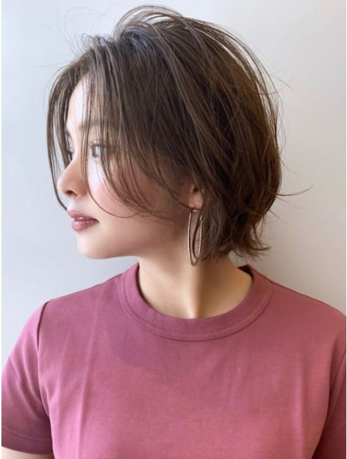 大人ボブ前髪なし:L039423525 サンディーズ(SUNDYS)のヘアカタログ ホットペッパービ
