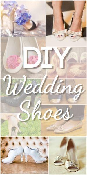 05576c566eb9 Stunning DIY Wedding Shoes