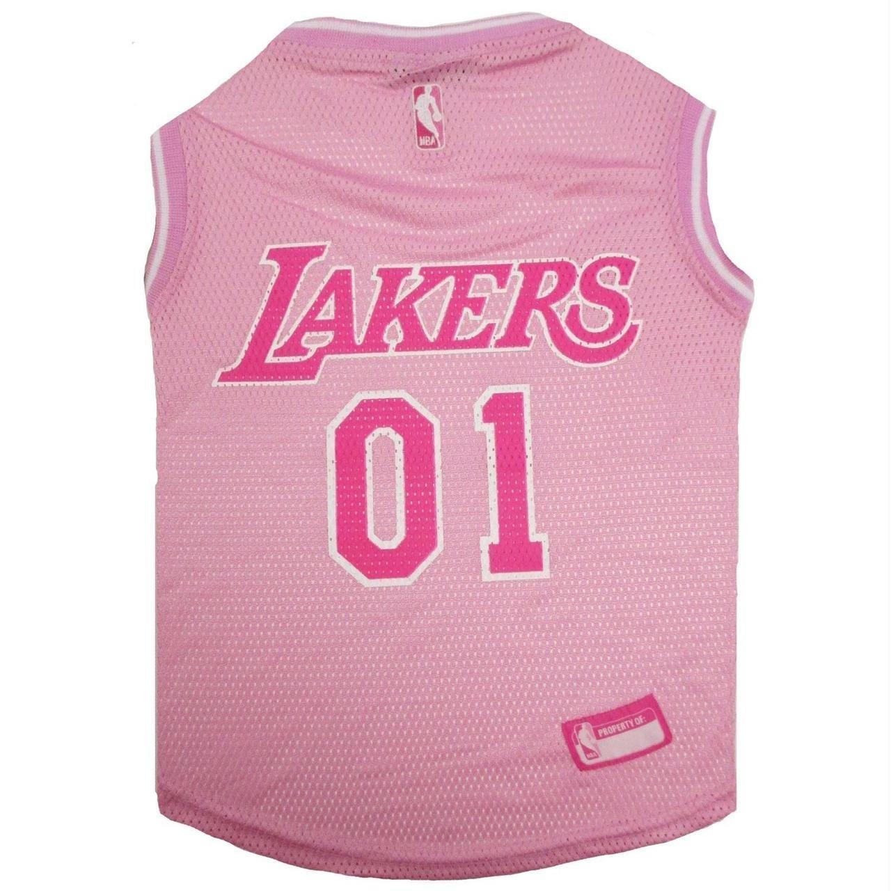 detailed look f008d 5611c Los Angeles Lakers Pet Pink Jersey #ers #k #nbafinals #memes ...