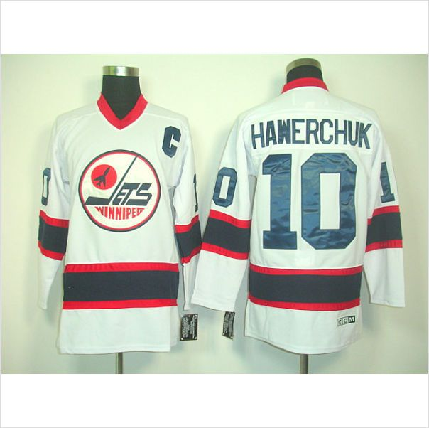 352be15c ... CCM Throwback Stitched NHL Jersey Mens Winnipeg Jets Dale Hawerchuk 10  WhiteRed Authentic NHL Jersey on eBid United States ...