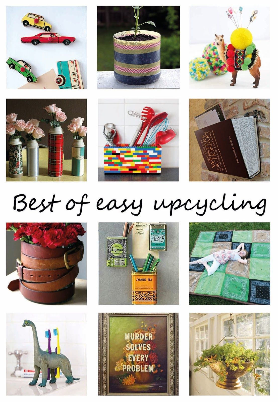 DIYcraft: Upcycling is great and fun but the best upcycling