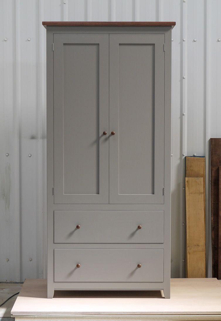 Best Larder Cupboard Handpainted In Farrow Ball Estate 400 x 300