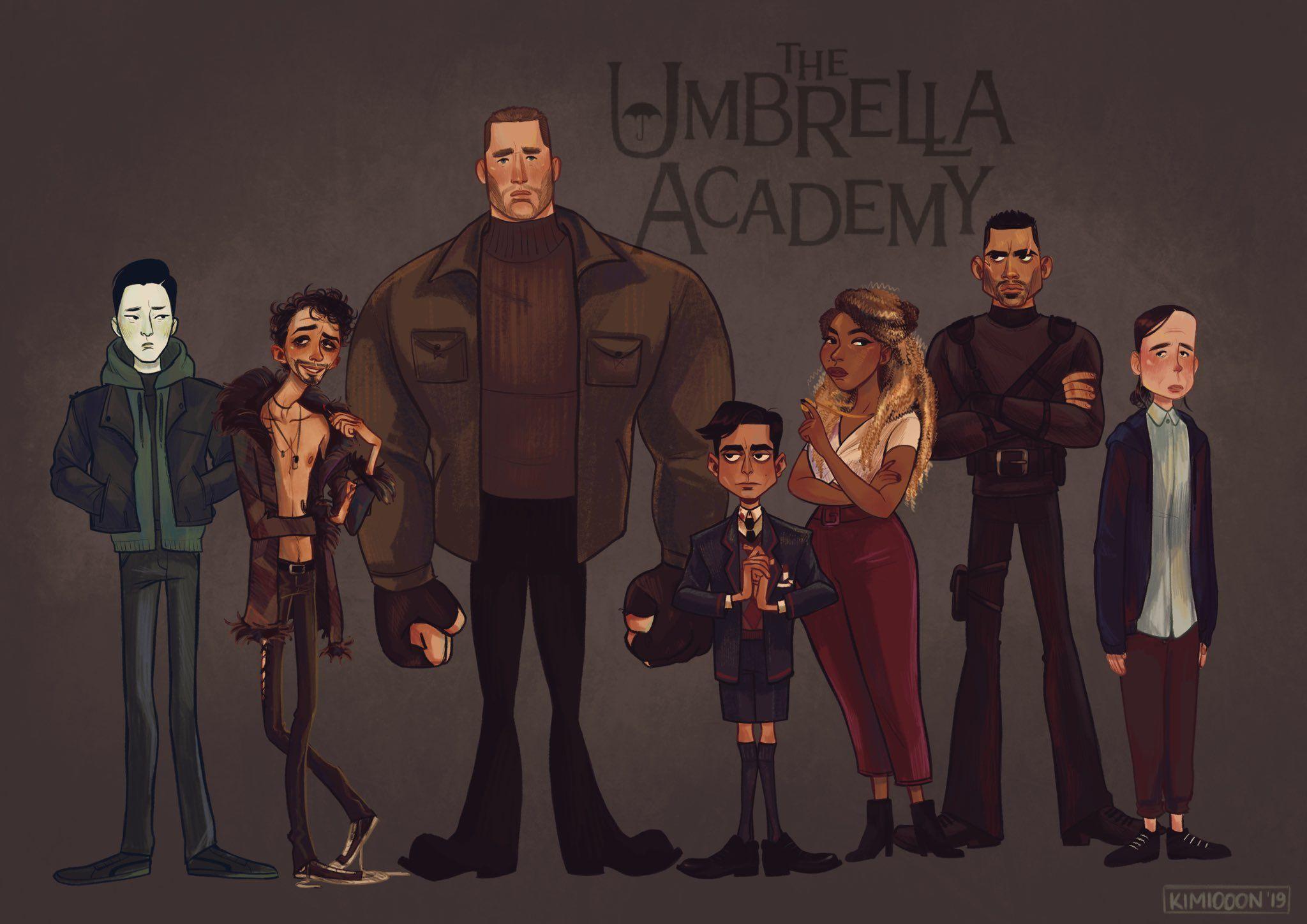 Академия амбрелла пятый картинки