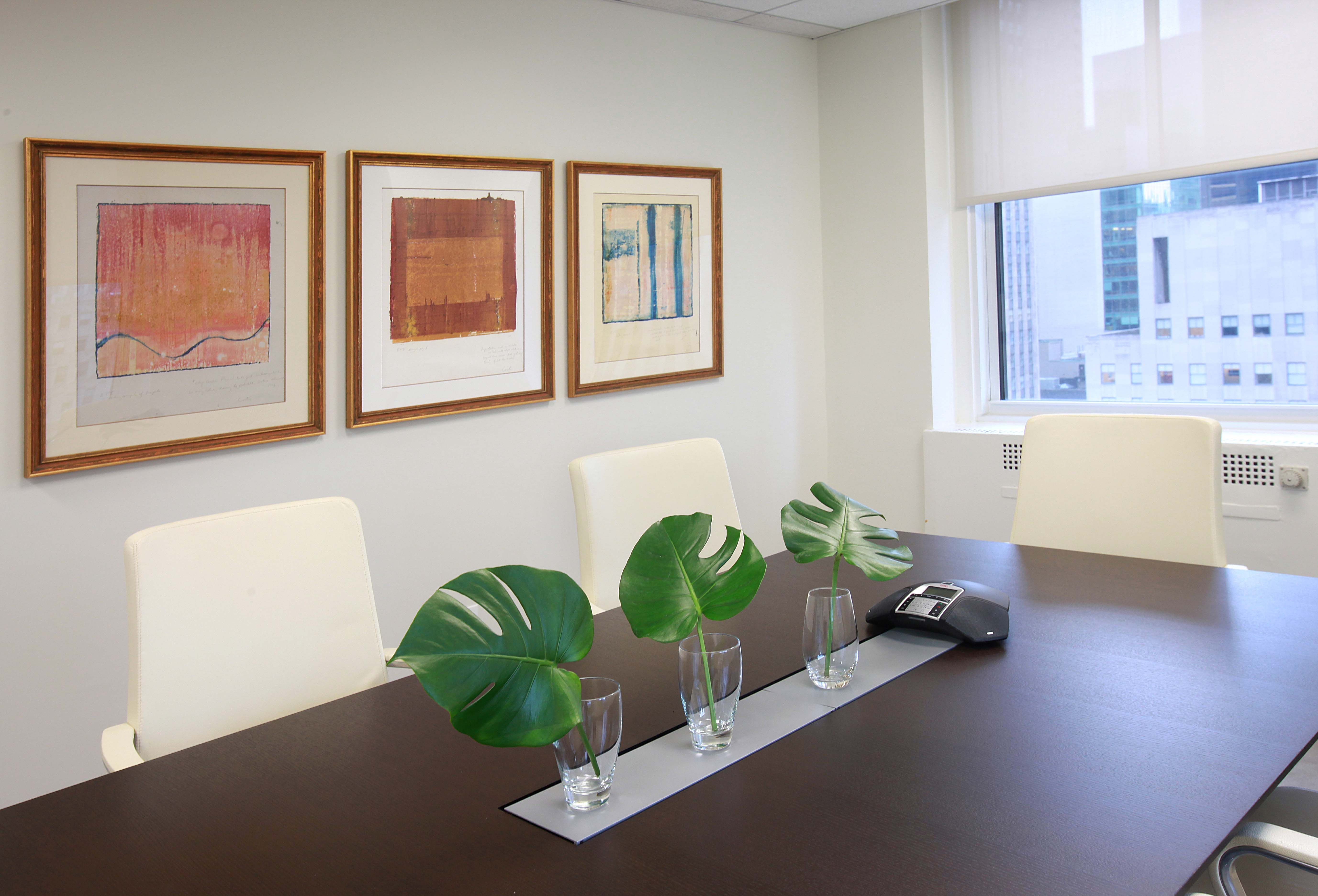 Nyc Eco Friendly Corporate Office Interior Design Conference Room