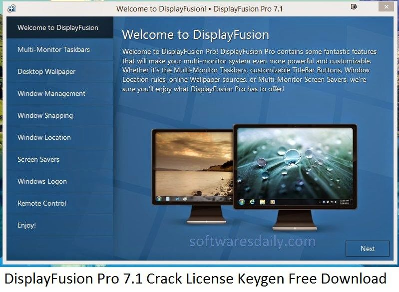 displayfusion pro 7.1 license key